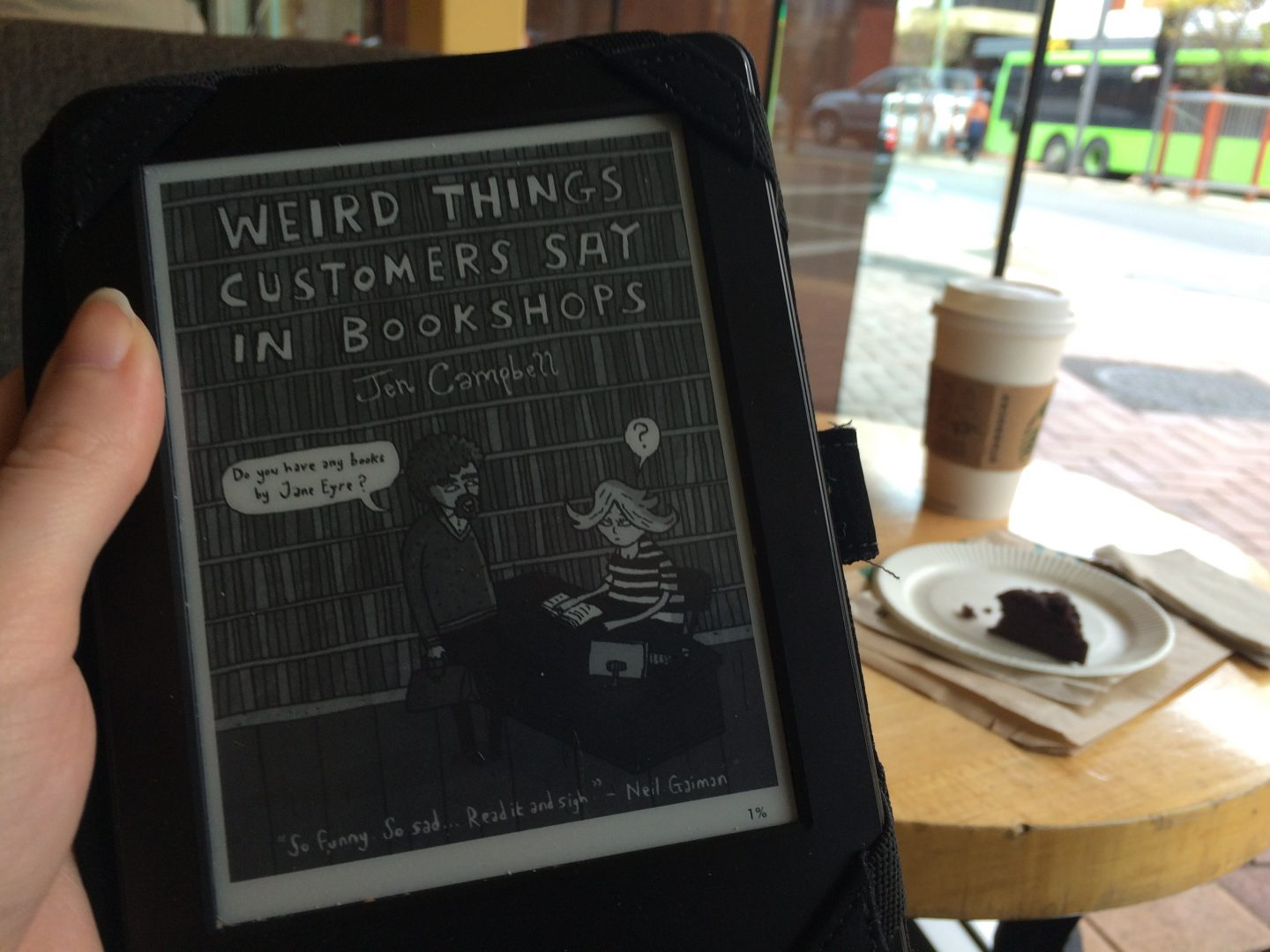 Weird Things Customers Say In Bookshops by Jen Campbell Review