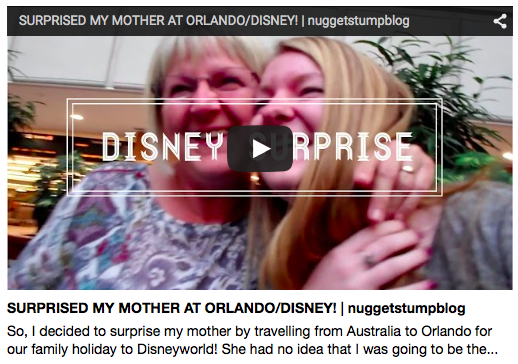 NEW VIDEO: Surprised My Mother At Disney Orlando!