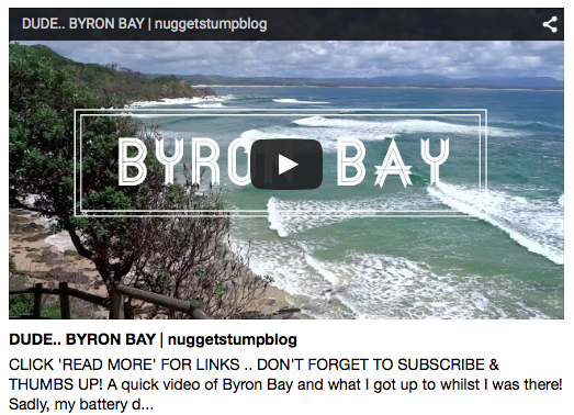 New Vlog: Byron Bay!