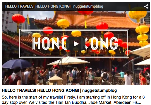 My first travel vlog is up!