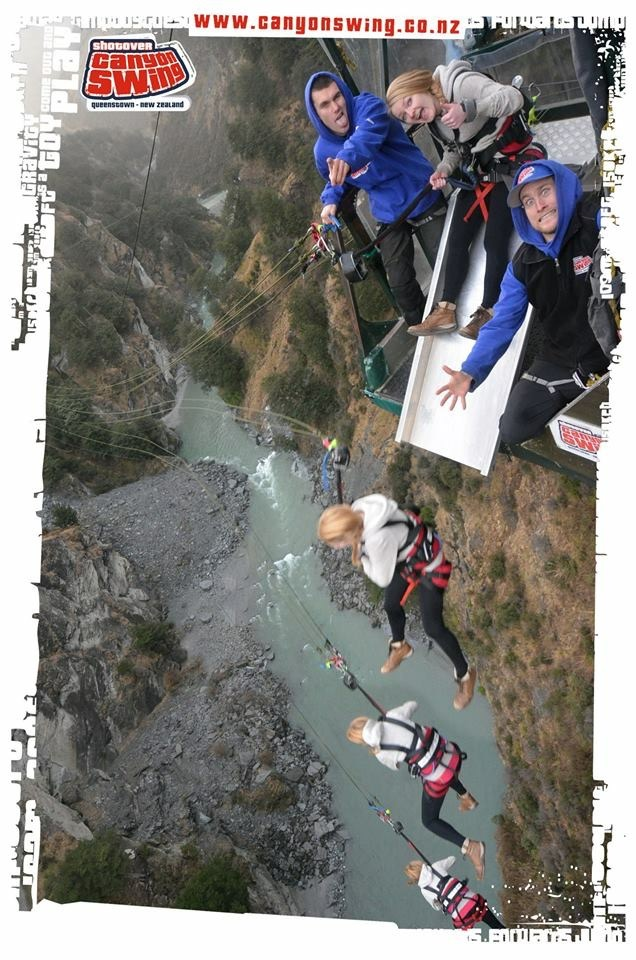 Queenstown Shotover Canyon Swing