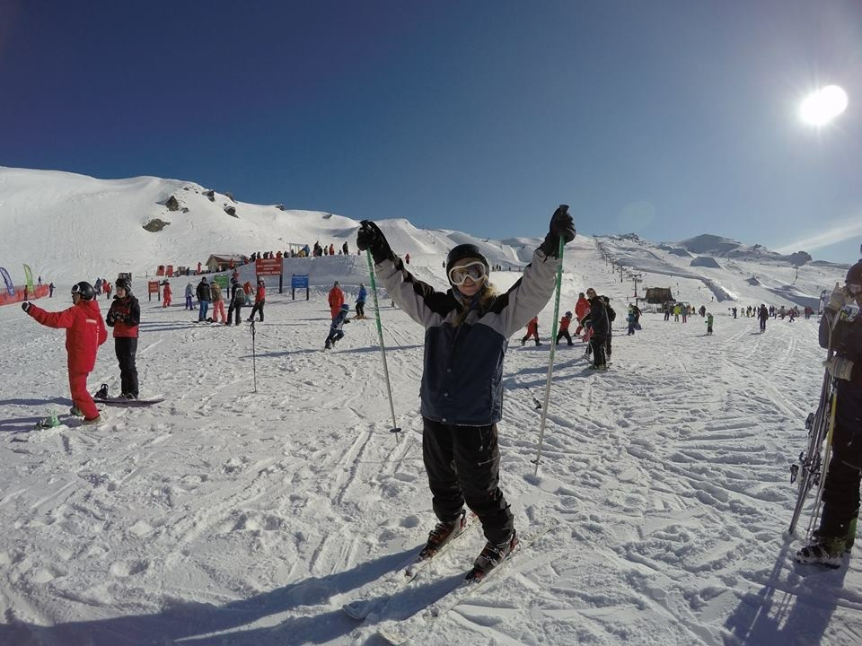 Skiing at Cardrona