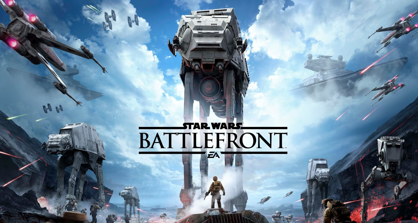 You need Star Wars Battlefront!