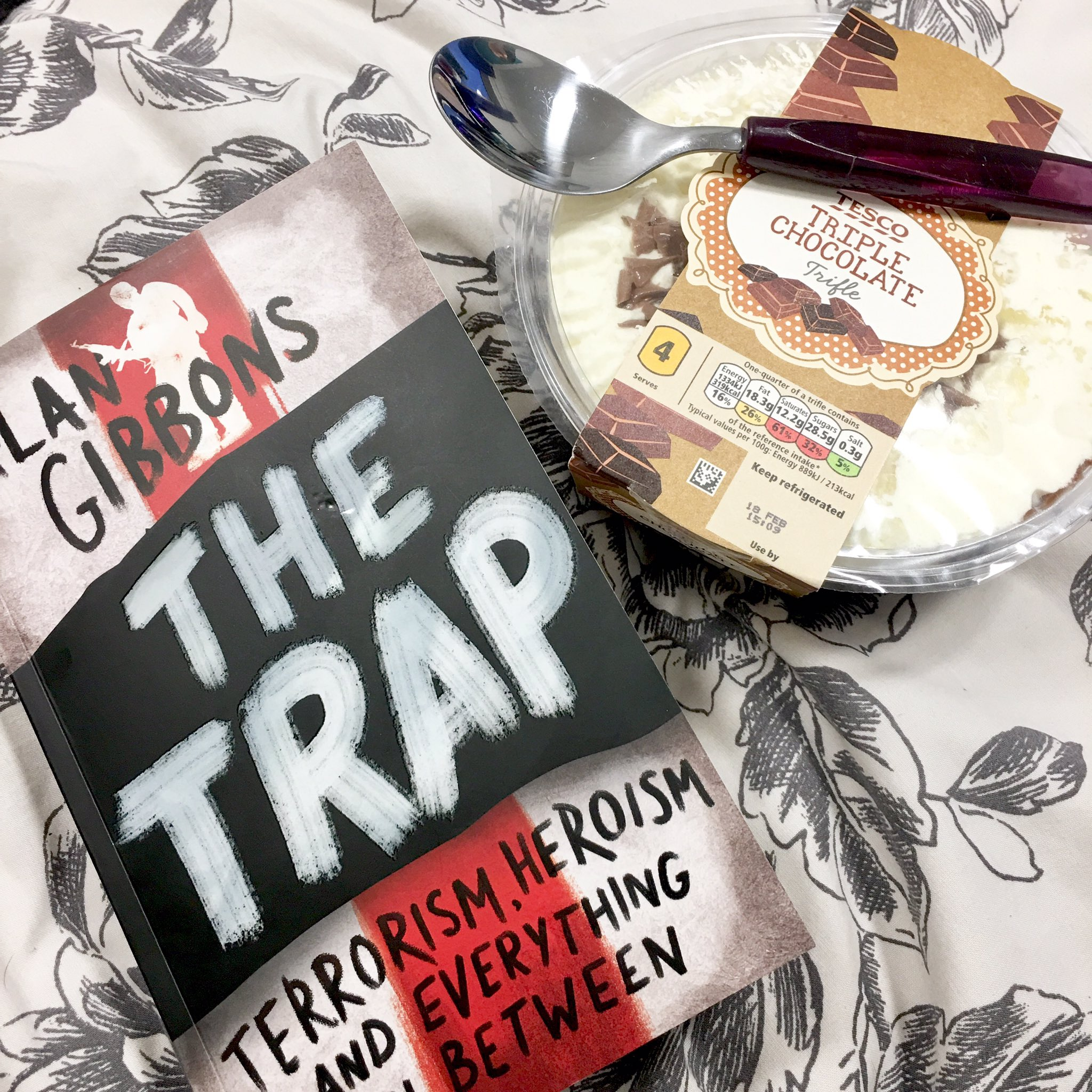 The Trap Alan Gibbons Book Review - Tesco Triple Chocolate Trifle