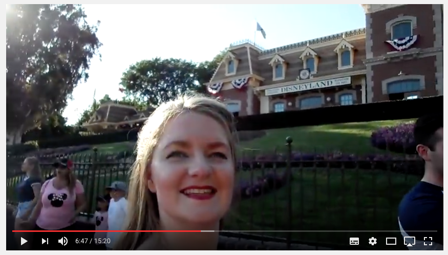 Disneyland, here we come! Youtube Vlog