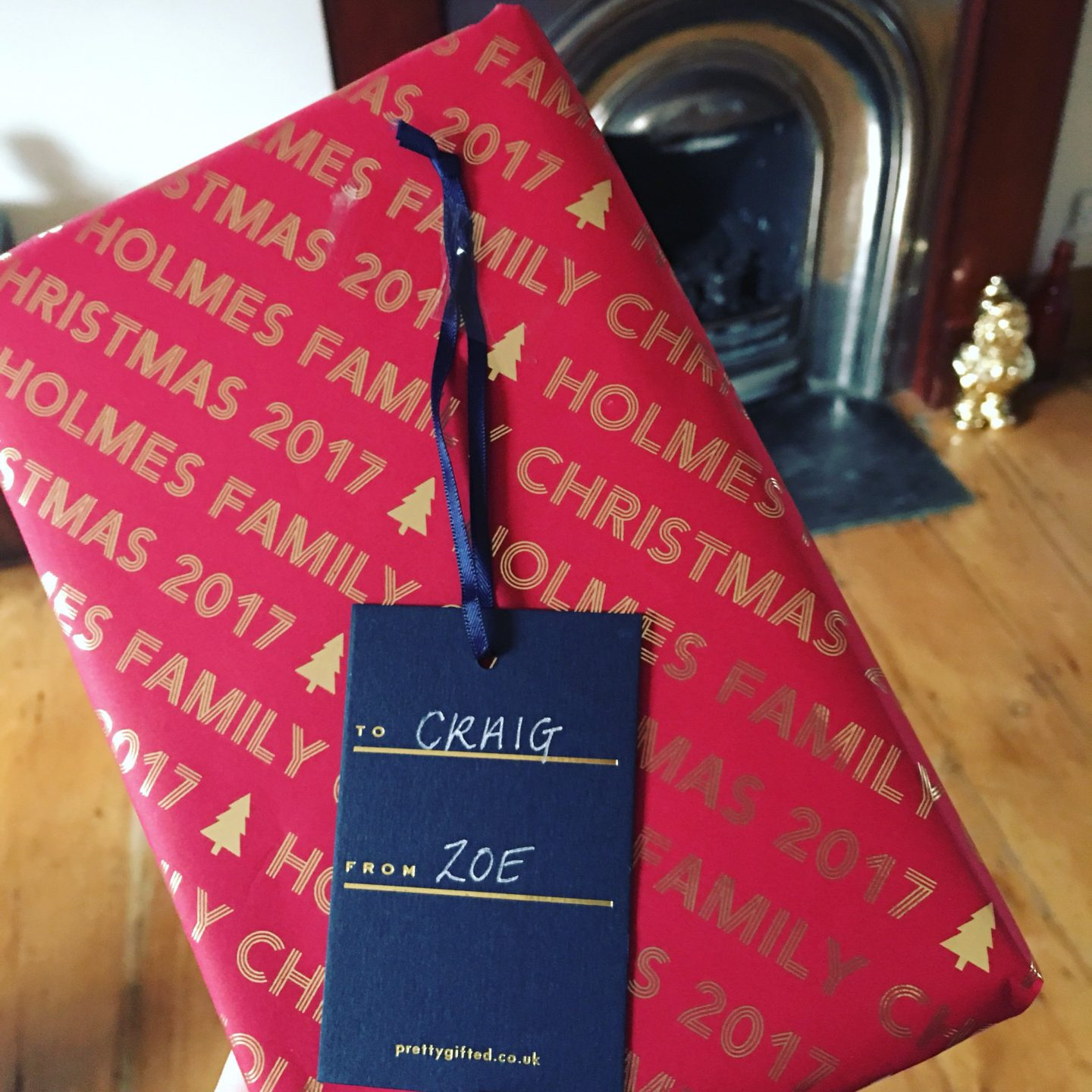 Personalised Wrapping Paper?