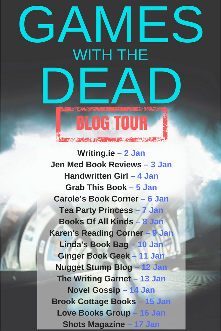 Games With The Dead by James Nally Blog Tour