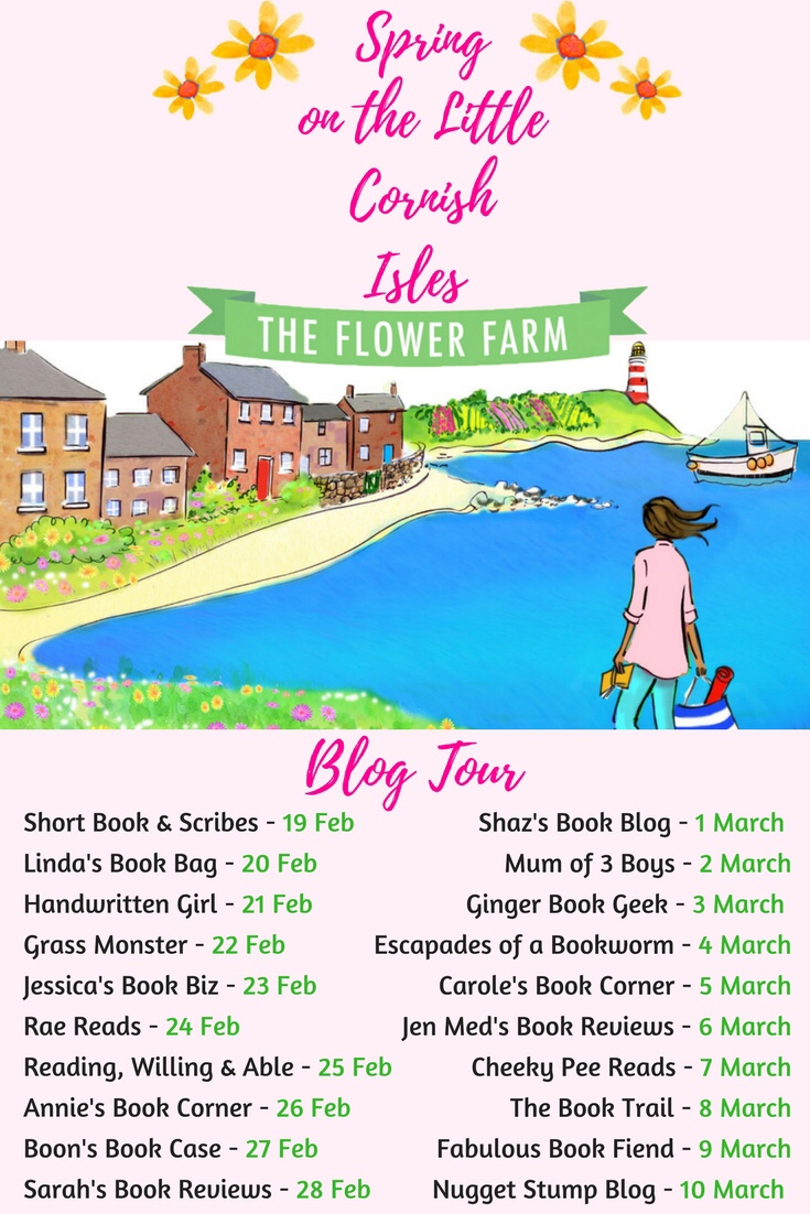Spring On The Little Cornish Isles: The Flower Farm Blog Tour