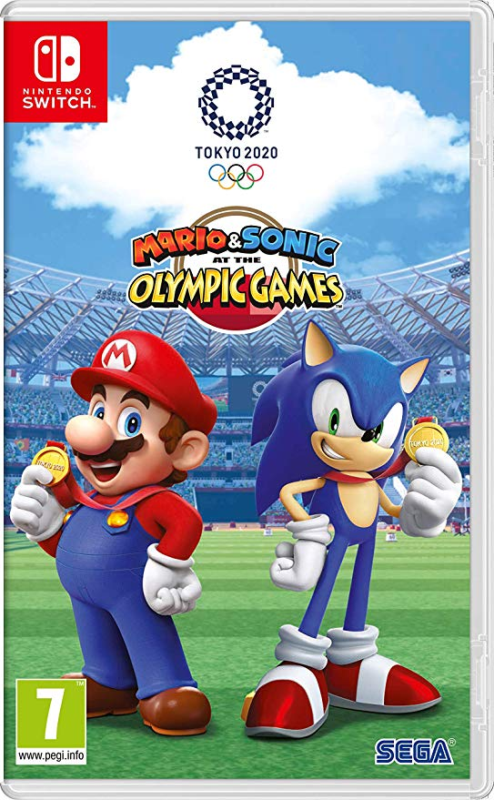 Cover art for Mario and Sonic olympics on switch