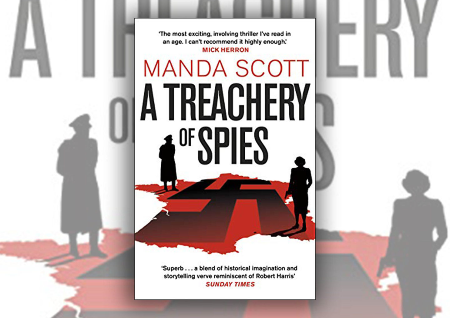 A Treachery Of Spies Manda Scott